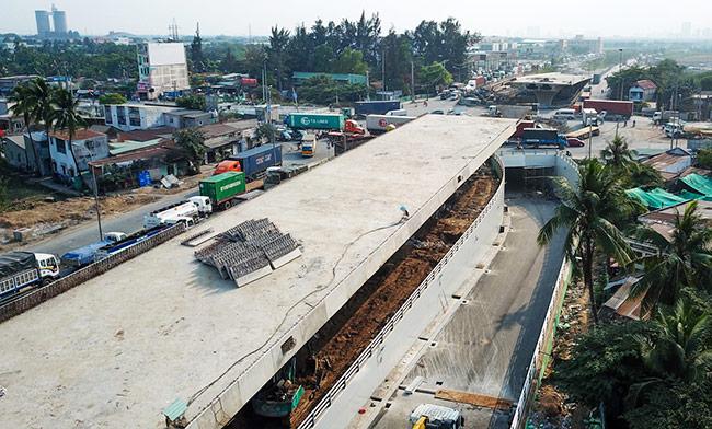 TP HCM thông xe hầm chui giảm ùn tắc ở cửa ngõ phía Đôngv