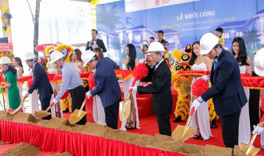 SCC KICKS OFF THE SOL VILLAS GROUND-BREAKING CEREMONY