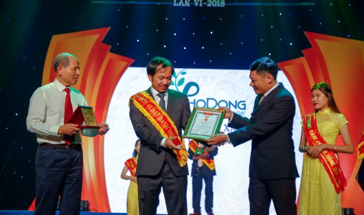 CÔNG TY CỔ PHẦN XÂY DỰNG SÀI GÒN (SCC) ĐẠT TOP 10 THƯƠNG HIỆU, NHÃN HIỆU TIN DÙNG 2018
