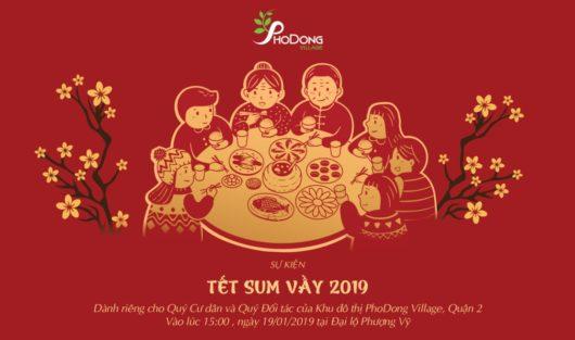 """CHỦ ĐẦU TƯ KĐT PHODONG VILLAGE TỔ CHỨC CHƯƠNG TRÌNH """"TẾT SUM VẦY 2019"""""""