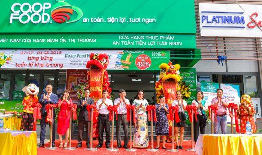 TƯNG BỪNG KHAI TRƯƠNG CO.OP FOOD PHODONG