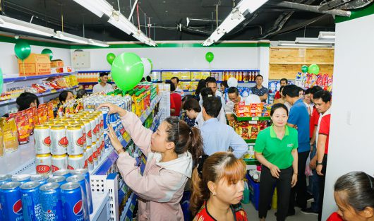 CO.OP FOOD PHODONG GRAVITATION PEOPLE'S FARMING AREA VISITING, SHOPPING IN THE GRAND OPENING DAY