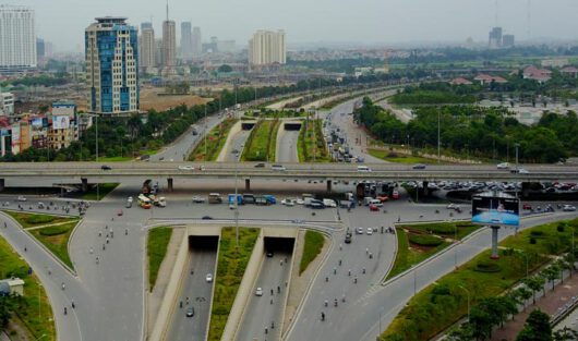 INFRASTRUCTURE PROJECTS HAVE CONTRIBUTED FOR THE CHANGES OF THE EAST SAIGON AREA