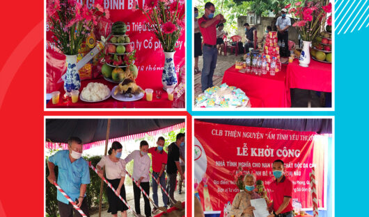 THE CHARITY CLUB WARM WITH LOVE: CONSTRUCTION COMMENCEMENT CEREMONY OF GRATITUDE HOUSES FOR AGENT ORANGE VICTIM FAMILY