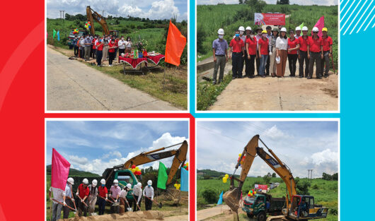 THE CHARITY CLUB WARM WITH LOVE: CONSTRUCTION COMMENCEMENT CEREMONY OF TAN HIEP PIPE CULVERT